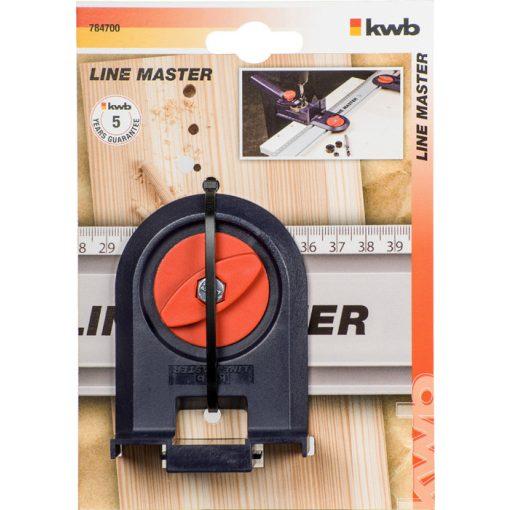 KWB 784700 LINE MASTER PROFI univerzális dübelező adapter segéd