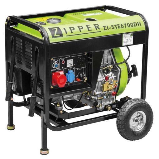 ZIPPER ZI-STE6700DH Dízel áramfejlesztő (9120039233499)