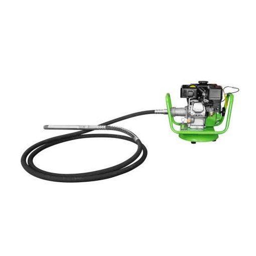 ZIPPER ZI-BR160Y Benzines tűvibrátor (betontömörítő)