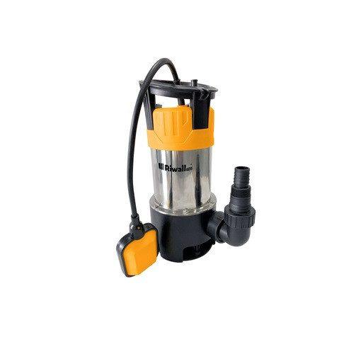 Riwall REP 1100 Inox Univerzális búvár szennyvízszivattyú 1100W (EP26A2001074B)